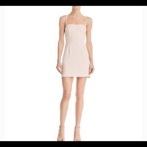 Sweetheart Polka-Dot Mini Dress